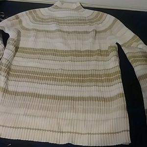St Johns Bay gold sparkling sweater